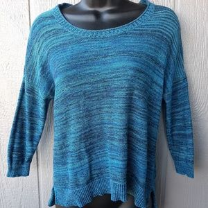 Mossimo Knitted Sweater Blue Size XS